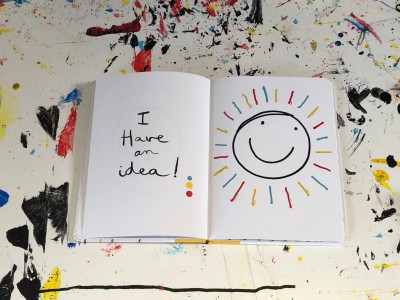 I have a Idea - Book by Herve Tullet